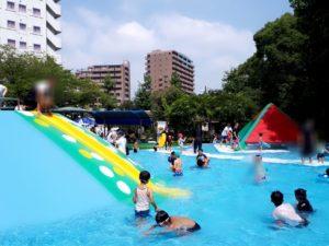 水前寺児童公園プールサイド奥