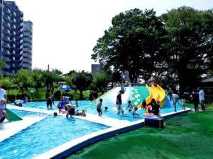 水前寺児童公園プールサイド