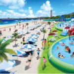 ハウステンボス夏の4大プールオープン2018!期間や料金は?花火もある?