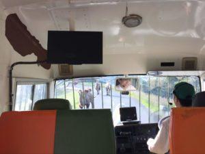 ジャングルバス車内