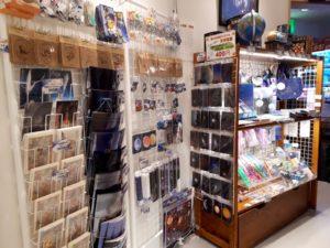 星の文化館売店コーナー