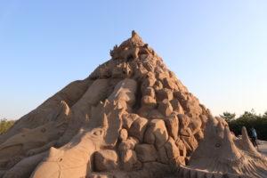 メイン砂像エリア